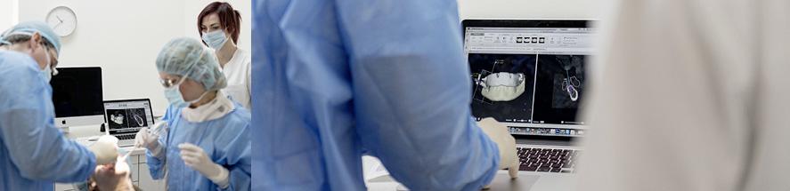 Schablonengeführte Implantation